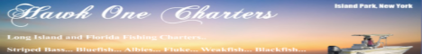 Hawk One Charters, Long Island and Florida Fishing Charters