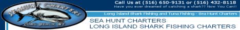 Sea Hunt Charters - Long Island Shark Fishing Charters, Long Beach NY